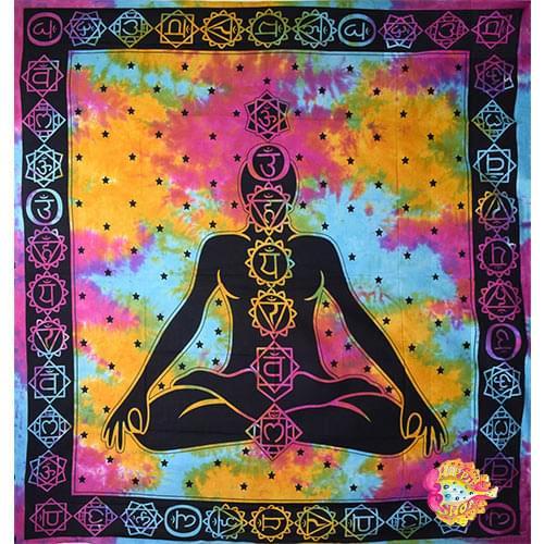 pano toixou-rixtari yoga-meditaion tie-dye